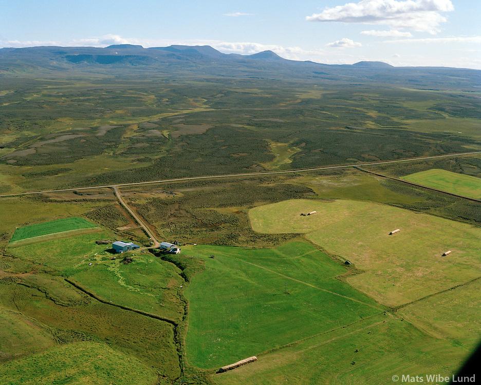 Ketilsstaðir séð til suðurs, Tjörneshreppur / Ketilsstadir viewing south, Tjorneshreppur.