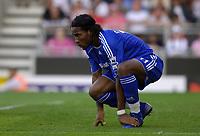 Photo: Daniel Hambury.<br />Fulham v Chelsea. The Barclays Premiership. 23/09/2006.<br />Chelsea's Didier Drogaba.