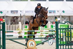 FUKUSHIMA Daisuke (JPN), Eldorento<br /> Hagen - Horses and Dreams 2019 <br /> 2. Qualifikation Youngster Tour für 6+7j Pferde<br /> Preis der Gemeinde Hagen a.T.W.<br /> 26. April 2019<br /> © www.sportfotos-lafrentz.de/Stefan Lafrentz