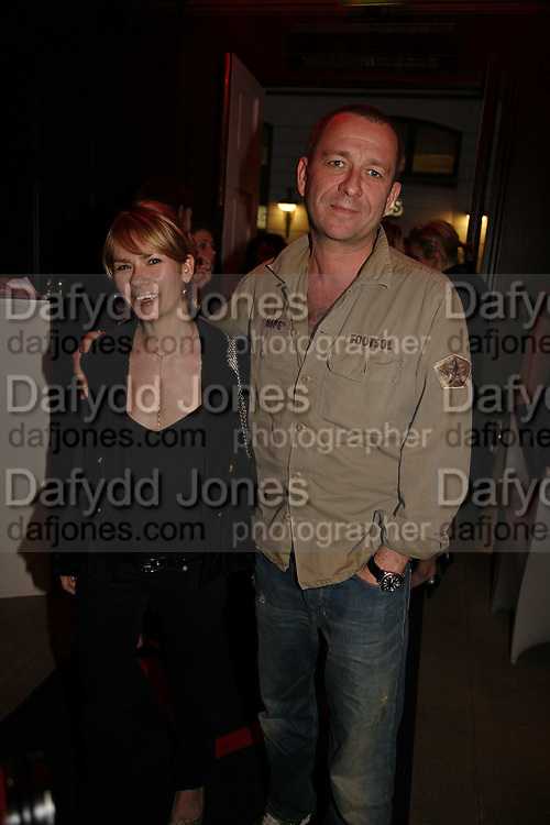 Sean Pertwee and  Jacqui Hamilton-Smith, The launch party for the new LG Chocolate Phone, Sketch. london.3 May 2006. ONE TIME USE ONLY - DO NOT ARCHIVE  © Copyright Photograph by Dafydd Jones 66 Stockwell Park Rd. London SW9 0DA Tel 020 7733 0108 www.dafjones.com