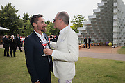 PETER MIKIC; PAUL PRICE, 2016 SERPENTINE SUMMER FUNDRAISER PARTY CO-HOSTED BY TOMMY HILFIGER. Serpentine Pavilion, Designed by Bjarke Ingels (BIG), Kensington Gardens. London. 6 July 2016