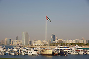 Panoramic view of the Corniche from the Breakwater.