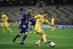 Matej Podlogar of Domzale and Martin Milec of Maribor during football match between NK Maribor and NK Domzale in 17th Round of Prva liga Telekom Slovenije 2019/20, on November 9, 2019 in Ljudski vrt, Maribor, Slovenia. Photo by Milos Vujinovic / Sportida