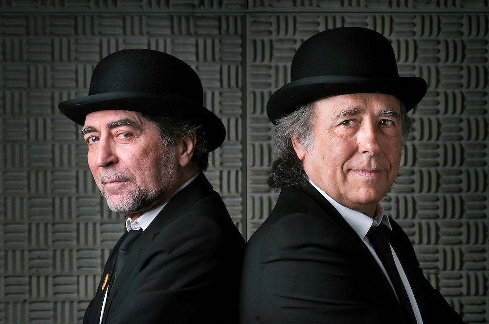 Joaquín Sabina y Joan Manuel Serrat.