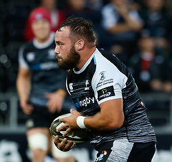 Alex Jeffries of Ospreys<br /> <br /> Photographer Simon King/Replay Images<br /> <br /> Guinness PRO14 Round 2 - Ospreys v Cheetahs - Saturday 8th September 2018 - Liberty Stadium - Swansea<br /> <br /> World Copyright © Replay Images . All rights reserved. info@replayimages.co.uk - http://replayimages.co.uk