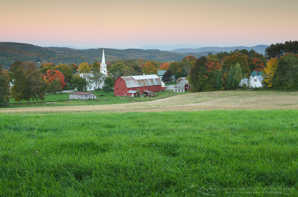 Picturesque rural scene, Peacham, Vermont