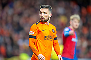 Nicky Clark (#10) of Dundee United FC during the William Hill Scottish Cup quarter final match between Dundee United and Inverness CT at Tannadice Park, Dundee, Scotland on 3 March 2019.