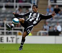 Photo: Jed Wee/Sportsbeat Images.<br /> Newcastle United v Sampdoria. Pre Season Friendly. 05/08/2007.<br /> <br /> Newcastle's Nolberto Solano.