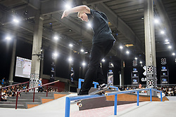 May 20, 2018 - Oslo, NORWAY - 180520 Alexander Risvad of Denmark competes in the men's street skateboard nordic qualifier during X Games Norway on May 20, 2018 in Oslo.Photo: Fredrik Varfjell / BILDBYRÃ…N / kod FV / 150099 (Credit Image: © Fredrik Varfjell/Bildbyran via ZUMA Press)