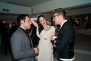 JAMES CONRAN; COCO ROCHA; HENRY HOLLAND, BROWN'S 40TH ANNIVERSARY DINner. Regent Loft and Penthouses. Marshall St. London. 13 May 2010. -DO NOT ARCHIVE-© Copyright Photograph by Dafydd Jones. 248 Clapham Rd. London SW9 0PZ. Tel 0207 820 0771. www.dafjones.com.
