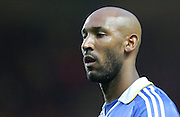Nicolas Anelka of Chelsea in action during the UEFA Champions League Semi Final Second Leg match between Chelsea and Barcelona at Stamford Bridge on May 6, 2009 in London, England.