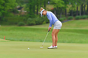 Selanee Henderson during the first round of the Symetra Classic at Atlanta National Golf Club on April 28, 2017 in Milton, GA.<br /> <br /> ©2017 Scott Miller