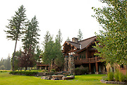 Residence of the Noble's, 12890 Carney Ranch Road, Bigfork, Montana.
