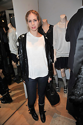 MARISSA SACKLER at the launch party for Club Monaco at Browns, 32 South Molton Street, London on 16th February 2011.