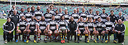 Twickenham, United Kingdom, The Barbarians Squard at the tradional team photo, before the Killik Cup Match, Barbarians vs Argentina, RFU Stadium, Twickenham, England,<br /> <br /> Saturday    21/11/2015  <br /> <br /> [Mandatory Credit; Peter Spurrier/Intersport-images]