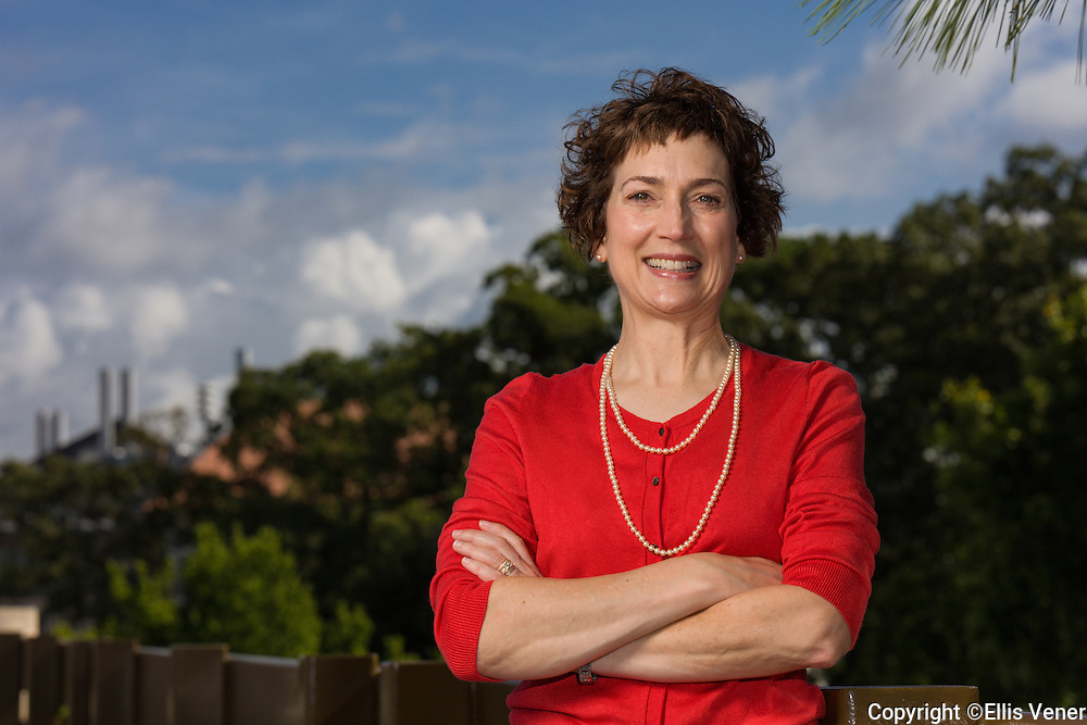 Portrait of Dr. Laureen Hill, MD, MBA for the Stanford University Alumni magazine. Dr Hill is the Chair of the Department of Anesthesiology at Emory University School of Medicine in Atlanta, Georgia
