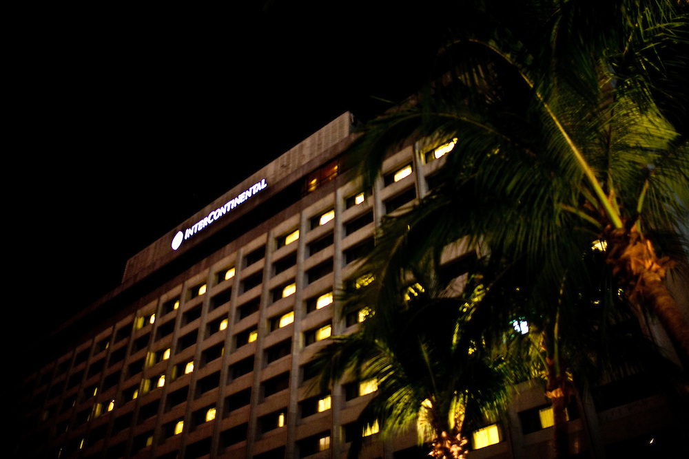 Intercontinental Hotel, Manila. The capital of the Philippines is a city of contrasts.