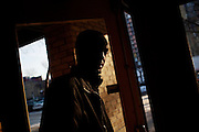 Osman Ahmed on Thursday, January 22, 2009 in Minneapolis, Minnesota. Osman is the cousin of Burhan Hassan, a 17 year old Somali immigrant who disappeared from Minneapolis, Minnesota.