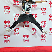 LAS VEGAS - SEP 19: DJ Steve Aoki attends the 2014 iHeartRadio Music Festival at the MGM Grand Garden Arena on September 19, 2014 in Las Vegas.