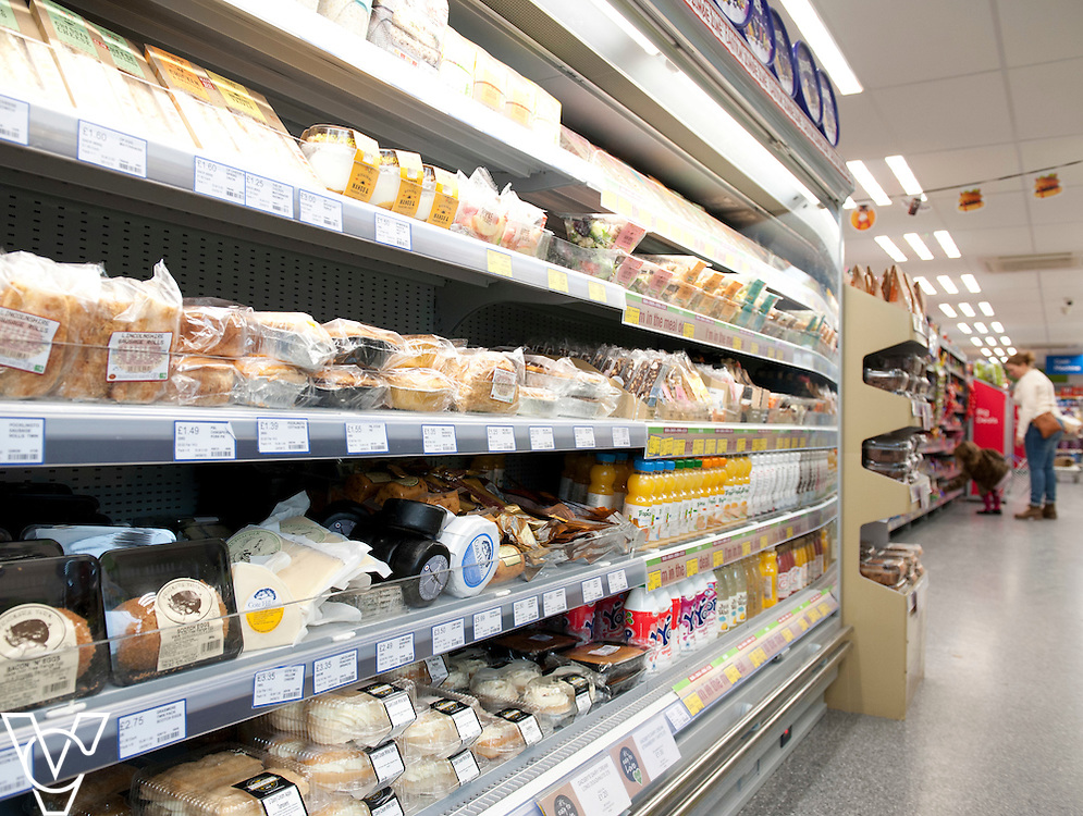 General view of the inside of the newly refurbished Lincolnshire Co-operative Food Store in Washingborough<br /> <br /> Official re-opening of the refurbished Washingborough Food Store and precinct, which includes the Co-op Pharmacy.<br /> <br /> Date: October 30, 2015<br /> Picture: Chris Vaughan/Chris Vaughan Photography