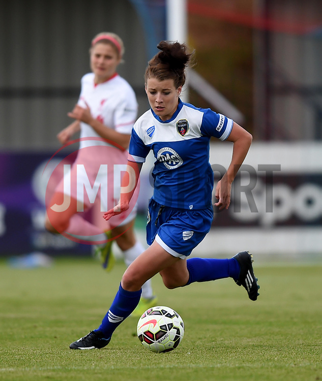 Angharad James of Bristol Academy Women - Mandatory by-line: Paul Knight/JMP - Mobile: 07966 386802 - 13/09/2015 -  FOOTBALL - Stoke Gifford Stadium - Bristol, England -  Bristol Academy Women v Liverpool Ladies FC - FA WSL Continental Tyres Cup