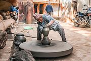 Potter's Street Bhaktapur, Nepal