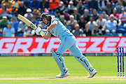Jos Buttler of England batting during the ICC Cricket World Cup 2019 match between England and Bangladesh the Cardiff Wales Stadium at Sophia Gardens, Cardiff, Wales on 8 June 2019.