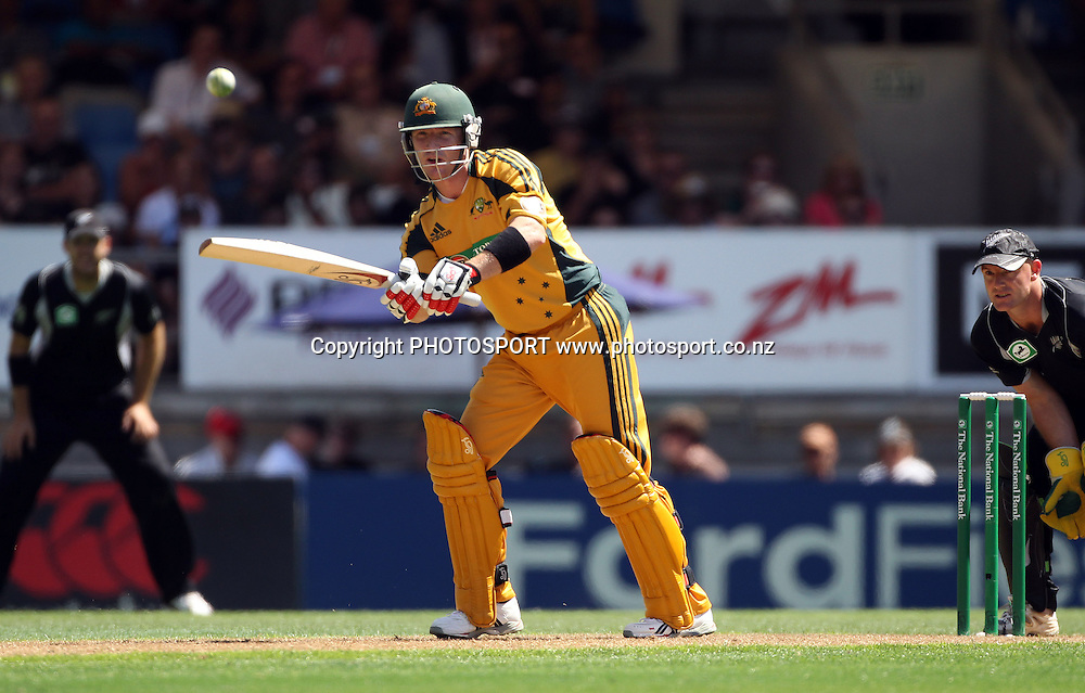 Brad Haddin batting.<br />