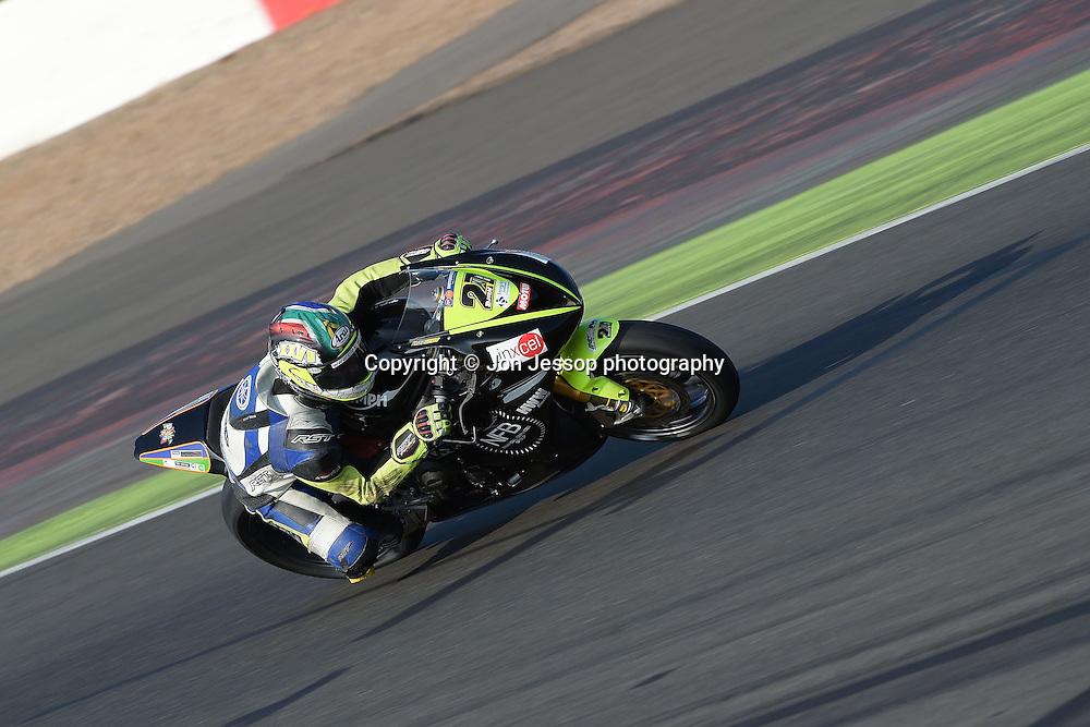 #27 Bjorn Estment NFB Financial services Triumph Motorpoint British Supersport