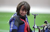 Paralympics London 2012 - ParalympicsGB - Shooting Womens R2-10m Air Rifle Standing - SH1 Heats 30th August 2012.  .Amanda Pankhurst competing in the Womens R2-10m Air Rifle Standing - SH1 Heats at the Paralympic Games in London. Photo: Richard Washbrooke/ParalympicsGB