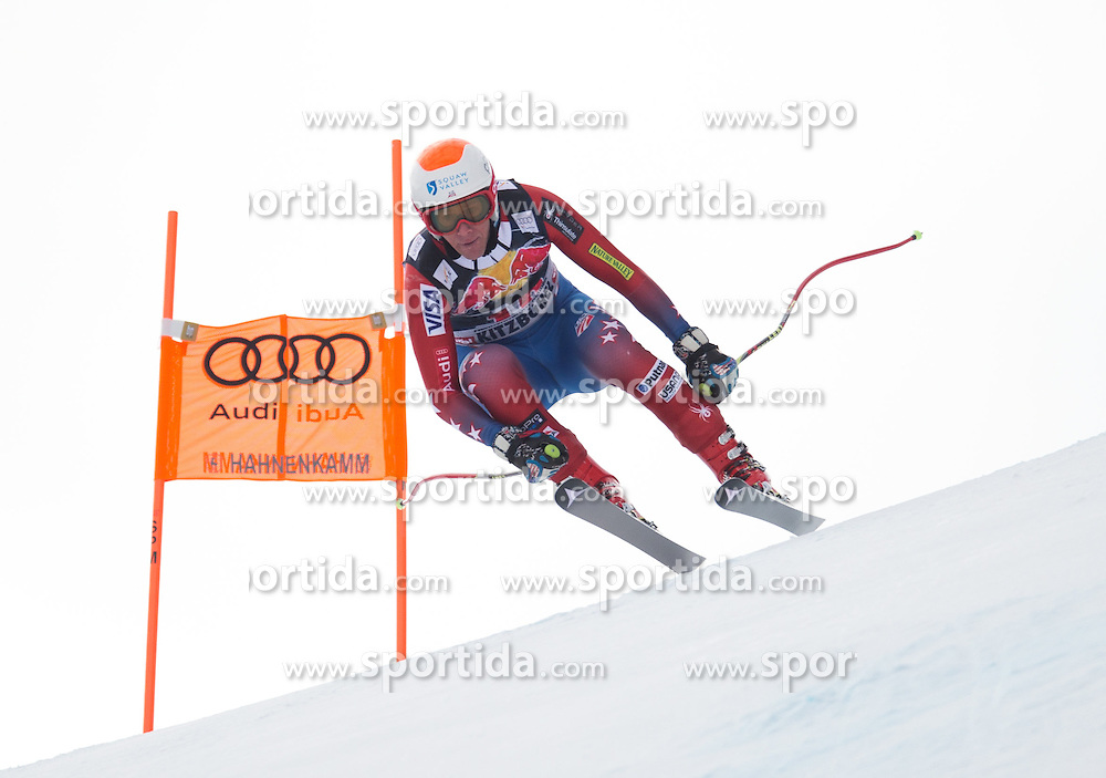 19.01.2016, Streif, Kitzbuehel, AUT, FIS Weltcup Ski Alpin, Kitzbuehel, 1. Abfahrtstraining, Herren, im Bild Marco Sullivan (USA) // Marco Sullivan of the USA in action during 1st Training of the men's Downhill Race of Kitzbuehel FIS Ski Alpine World Cup at the Streif in Kitzbuehel, Austria on 2016/01/19. EXPA Pictures © 2016, PhotoCredit: EXPA/ Johann Groder