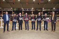 Huldiging Fokkers<br /> Hengstenkeuring BWP - Azelhof - Koningshooikt 2015<br /> ©  Dirk Caremans