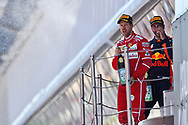 Sebastian Vettel of Scuderia Ferrari takes second place in the Spanish Formula One Grand Prix at Circuit de Catalunya, Barcelona<br /> Picture by EXPA Pictures/Focus Images Ltd 07814482222<br /> 14/05/2017<br /> *** UK &amp; IRELAND ONLY ***<br /> <br /> EXPA-EIB-170514-0112.jpg