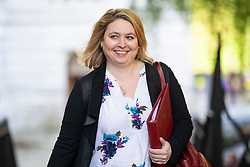© Licensed to London News Pictures. 08/05/2018. London, UK. Secretary of State for Northern Ireland Karen Bradley arrives on Downing Street for the Cabinet meeting. Photo credit: Rob Pinney/LNP