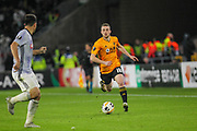 Diogo Jota of Wolverhampton Wanderers during the Europa League match between Wolverhampton Wanderers and Besiktas at Molineux, Wolverhampton, England on 12 December 2019.