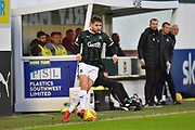 Joe Riley (2) of Plymouth Argyle during the EFL Sky Bet League 1 match between Plymouth Argyle and Accrington Stanley at Home Park, Plymouth, England on 22 December 2018.