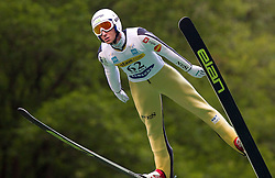 Dejan Judez (SLO) of SK Triglav Kranj during Ski Jumping Summer Continental Cup in Kranj, on July 2, 2011, in Kranj, Slovenia. (Photo by Vid Ponikvar / Sportida)