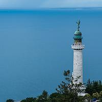 Vittoria Light (Italian: Faro della Vittoria) also known as the Victory Lighthouse, in Trieste, Italy