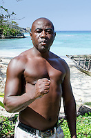 Kunta Kinte is one of the local who is fighting to keep Winnifred Beach a free and public beach.