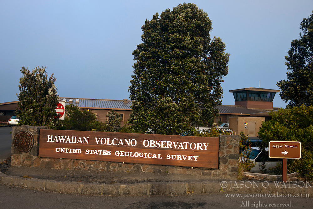 Hawaiian Volcano Observatory, Hawaii Volcanoes National Park,The Big Island, Hawaii, United States of America