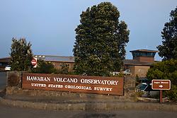Hawaiian Volcano Observatory, Hawaii Volcanoes National Park,The Big Island, Hawaii, United States of America