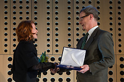 Rudolf Bregar at 52th Annual Awards of Stanko Bloudek for sports achievements in Slovenia in year 2016 on February 14, 2017 in Brdo Congress Center, Brdo, Ljubljana, Slovenia.  Photo by Martin Metelko / Sportida