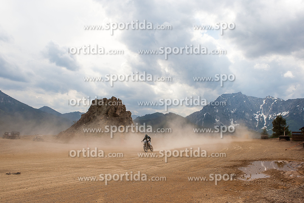 08.06.2012, Erzberg, Eisenerz, AUT, Erzbergrodeo 2012, Iron Road Prolog, im Bild Artem Tokhtar, (CZE), EXPA Pictures © 2012, PhotoCredit: EXPA/ M. Kuhnke