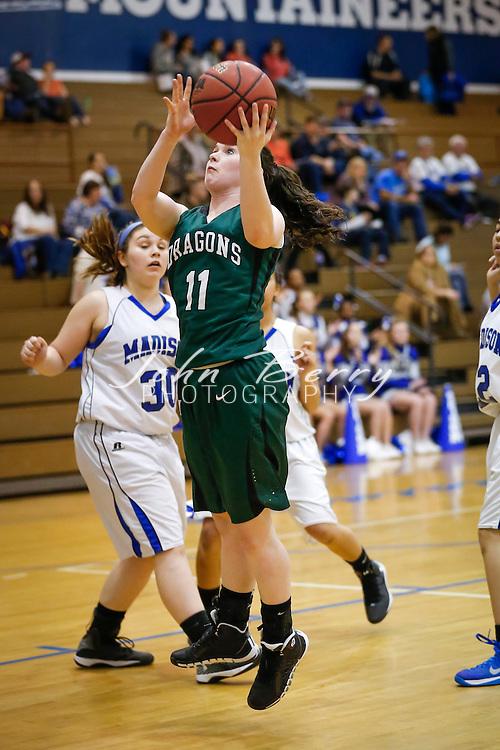January 22, 2015.  <br /> MCHS Varsity Girls Basketball vs William Monroe.