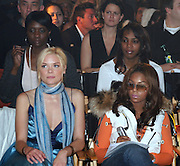 Jamie King & Ashanti.Sweetface by Jennifer Lopez and Andy Hilfiger Fashion Show Fall 2005 - Front Row & Backstage.Tent at Bryant Park.New York, NY, USA.Friday, February, 11, 2005.Photo By Selma Fonseca/ Celebrityvibe.com/Photovibe.com, New York, USA, Phone 212 410 5354, email:sales@celebrityvibe.com...