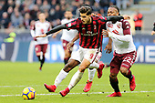 FOOTBALL - ITALIAN CHAMP - AC MILAN v TORINO FC 261117