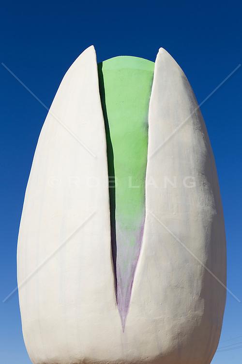 sculpture of The World's Largest Pistachio Nut