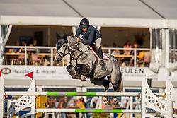 Heijligers Rob, NED, Cassiusd Clay VDV Z<br /> FEI WBFSH Jumping World Breeding Championship Lanaken 2019<br /> © Hippo Foto - Dirk Caremans<br />  20/09/2019