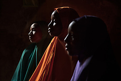 Sisters Yagana, 21, Ya Kaka 18 and Falimata, 14, were all abducted and held captive by Boko Haram until they escaped. The militant Islamist group, began it's insurgency against the Nigerian government in 2009. The terrorist group drew global outrage after abducting more than 270 schoolgirls from the town of Chibok. Many of the girls were forced into marriage and motherhood. The Borno State National Emergency Agency estimates tens of thousands more women and girls have also been kidnapped by militants in less-publicized attacks. In armed conflicts, child marriage is increasingly used as a weapon of war, forcing girls to give birth give birth to the next germination of fighters. Thousands of girls remain missing in Nigeria with little help of rescue. Those who manage to escape struggle with little support to rebuild their lives.