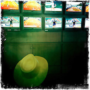 Roland Garros. Paris, France. May 30th 2012.Presse room.Salle de presse